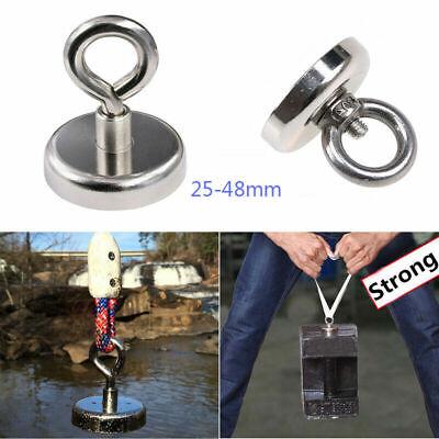 68KG Neodymium Recovery Magnet Strong Metal Detector Treasure Hunting Fishing