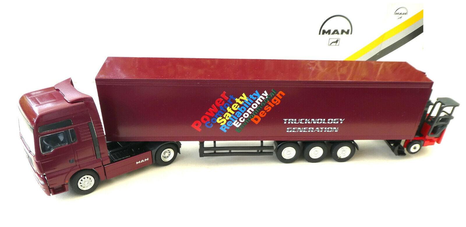 On camion neuf dans sa boîte 1 50  Conrad 6607 0 Man publicitaires modèle  4057  tout en haute qualité et prix bas