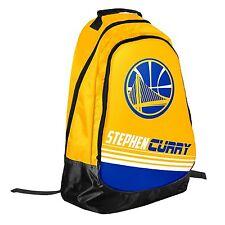 Stephen Steph Curry #30 Warriors Jersey Backpack gym Book Bag NBA Team Stripe