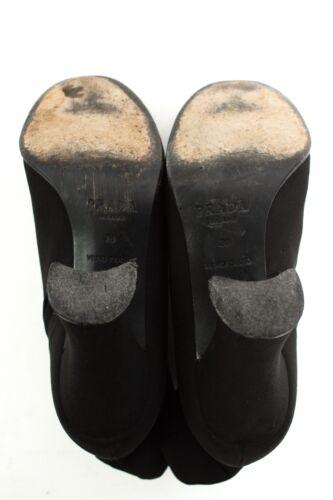 Chaussures Gr Chaussures Femmes Prada Bottines Noir 38 Eu Bottes 16f0wqz