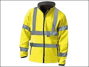 SCAN HI-VIS GIALLO Giacca Soft Shell-XL 48 in ca. 121.92 cm scawwhvsjxl