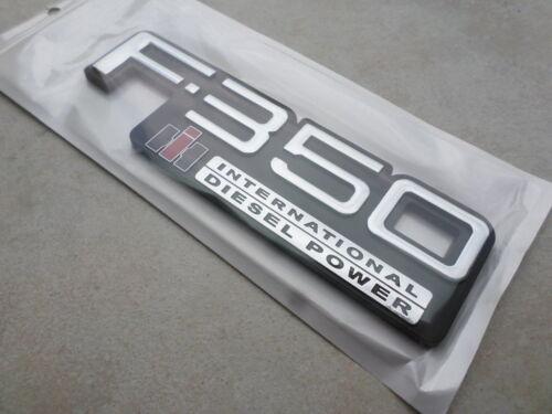 83-94 New Ford F-350 International Diesel Power Logo TEWOBSF350 Emblem Decal