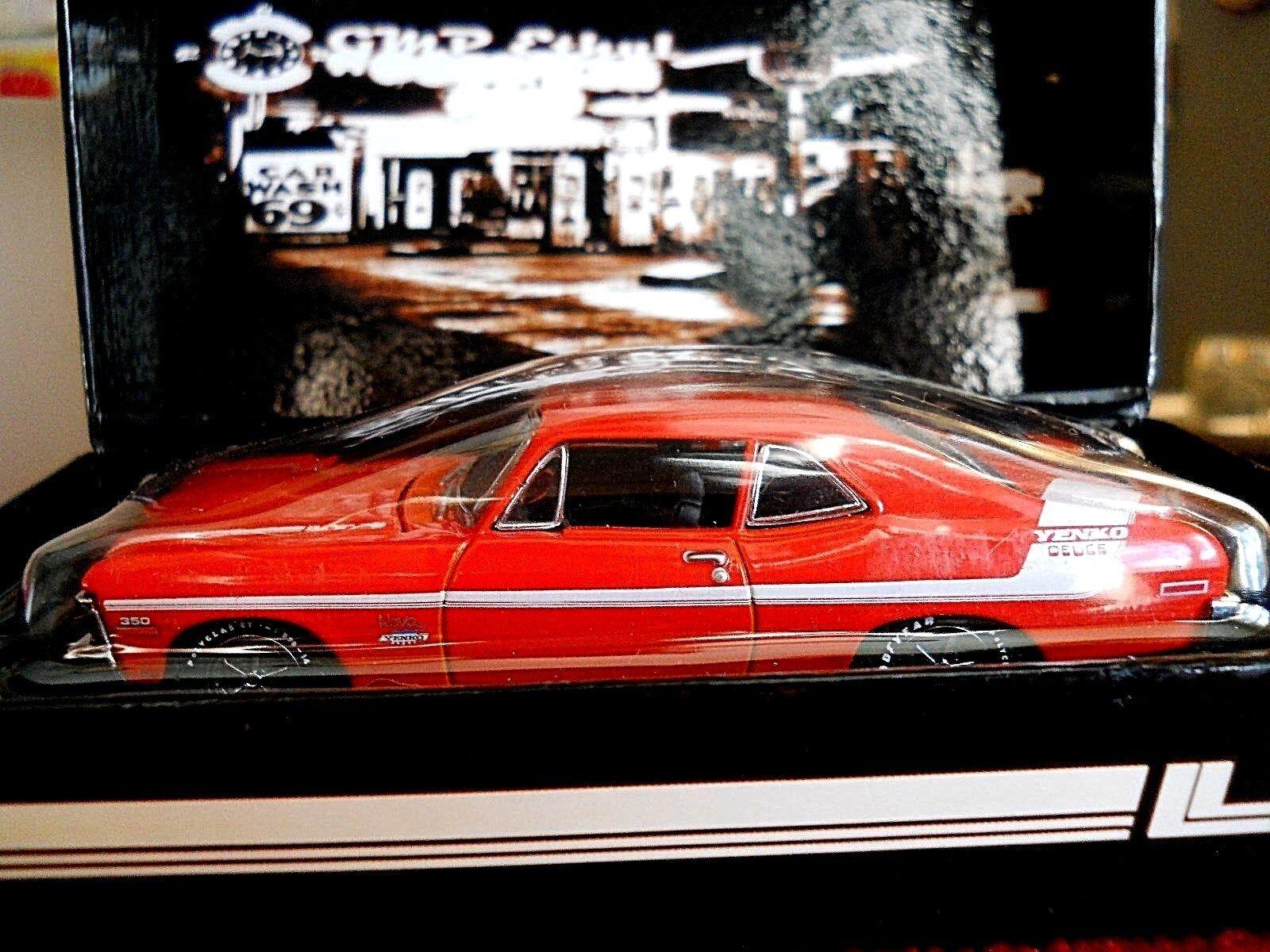 GMP 1970 1970 1970 Yenko Deuce Chevrolet Nova LT 350, arancia Chevy 1:43 SCALE 21da2c