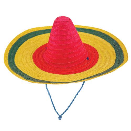 Wild West Messicano Poncho Sombrero Maraca Bullet Costume Adulto Costume Outfit
