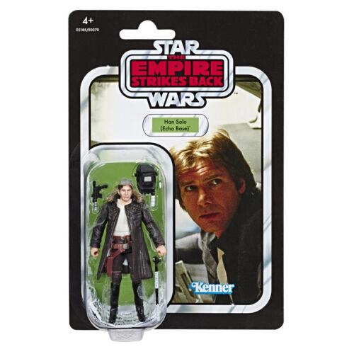 """Star Wars Vintage Collection 3.75/"""" Han Solo Echo Base NEW"""