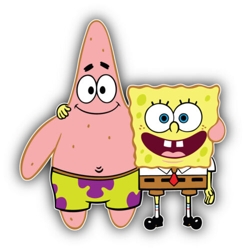 SpongeBob SquarePant Cartoon Sticker Bumper Decal /'/'SIZES/'/'