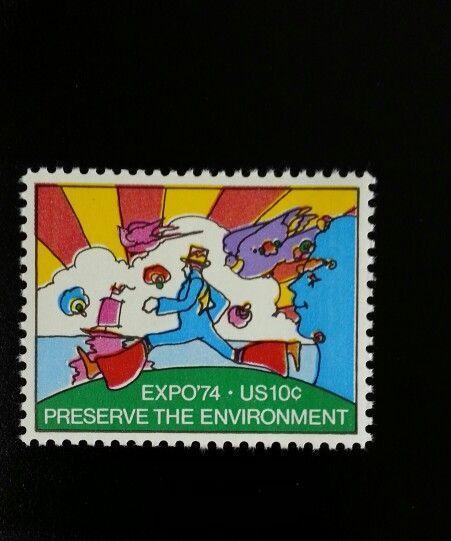 1974 10c Environmental Expo '74 Spokane, Washington Sco