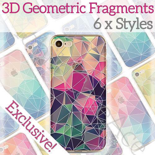 3D de lujo bonito Geométrico Rígido Ultra Fina Funda bastante de Piel para Iphone X