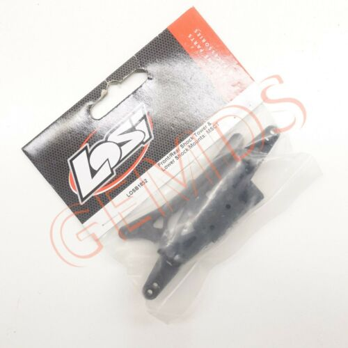 NEW Losi LOSB1852 Front//Rear Shock Tower /& Lower Shock Mounts 1//16 Mini SCT