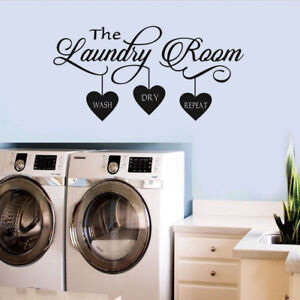 Laundry-Room-Quote-Wall-Sticker-Home-Decor-Popular-Vinyl-Removable-Art-Decal