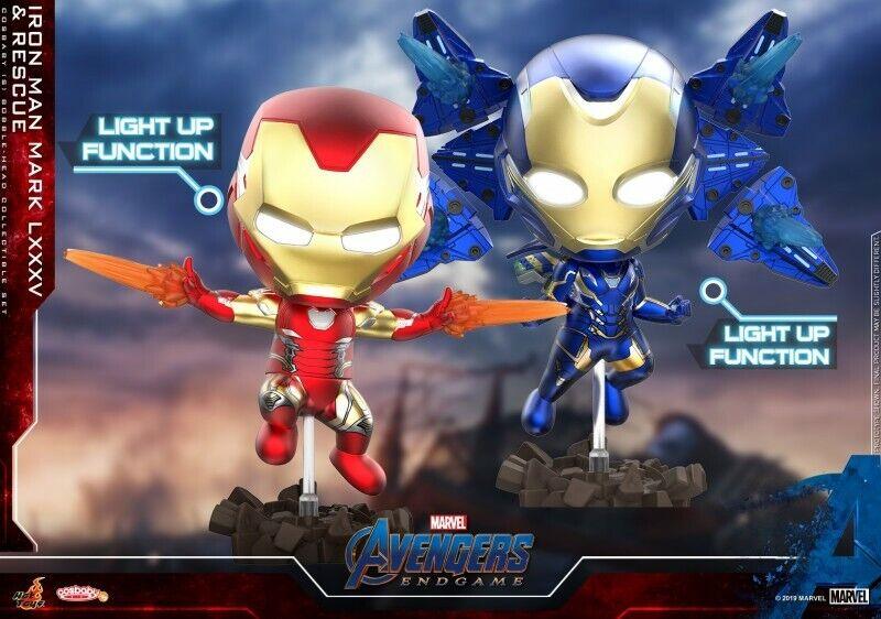 Artesanía 650 MK85 Armadura Iron Man Rescate Ver. figura Hot Juguetes COSBABY Vengadores Tacho