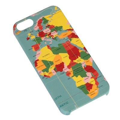 dotcomgiftshop VINTAGE WORLD MAP PRINTED CASE BACK COVER FOR IPHONE 5 5s