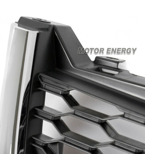 FRONT HOOD LOWER MESH GRILLE GRILL BLACK W//CHROME TRIM FOR 14-16 SUBARU FORESTER