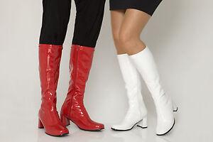 Details zu Verkleidung Kostümparty GOGO Stiefel 60er jahre & 70er jahre Party stiefel
