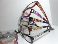 Mens Womens Reading Glasses With Metal Accent & Case Choose Color & Strength U26
