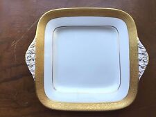 Wedgwood Ascot Square Handled Cake Plate