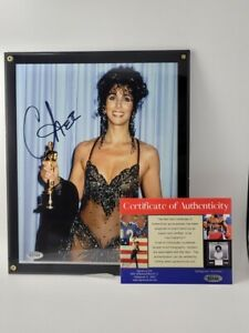 Cher-Autographed-In-Person-signed-picture-8x10-COA-RARE-Photo