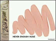 Too Faced Lip Injection Color Bomb! Lip Tint Plumper- Never Enough Nude (Boxed)