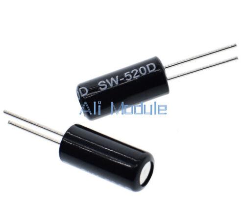 30PCS SW-520D Vibration Sensor Metal Ball Tilt Shaking Switch NEW