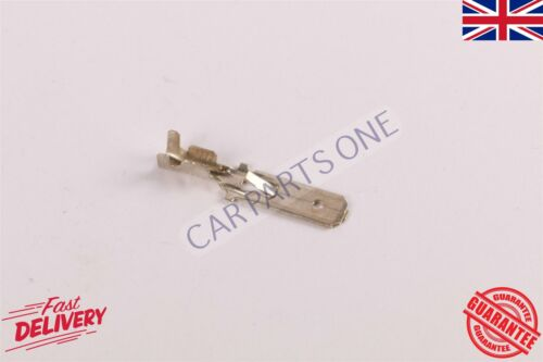 100X Uninsulated Male Silver 6.3mm Spade Terminals Connectors Crimp Electrical