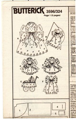 CHOICE UNCUT Butterick Sewing Crafts Patterns for Christmas Decor