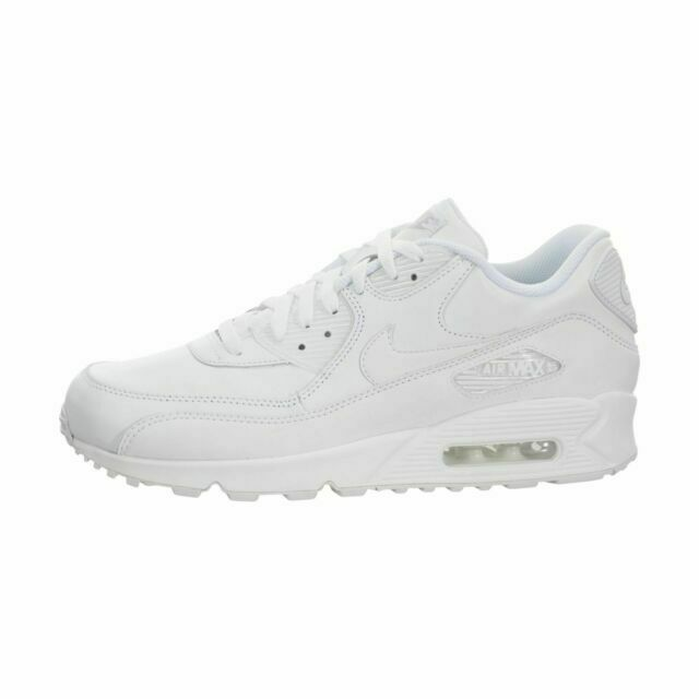 Size 15 - Nike Air Max 90 White Leather 2014