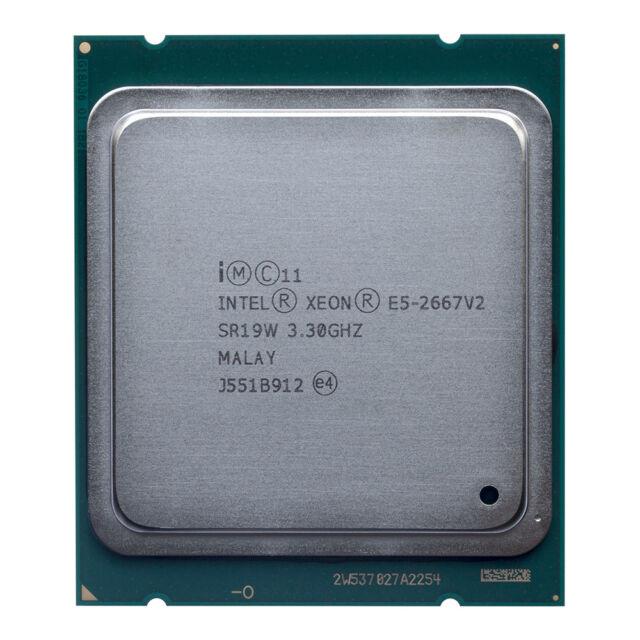 NEW Intel Xeon E5-2667 v2 OEM CPU 3.3GHz 8-Core Max 4.0GHz SR19W Beats E5-2643v2