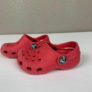 size 4 baby crocs