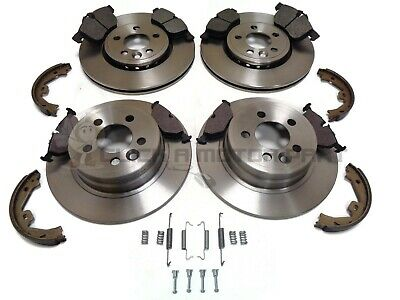 ROVER 75 FRONT BRAKE DISCS PADS SET 1.8 1999-2005 284mm Vented