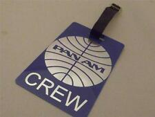 Novelty Luggage Crew Tags - Panam Airline