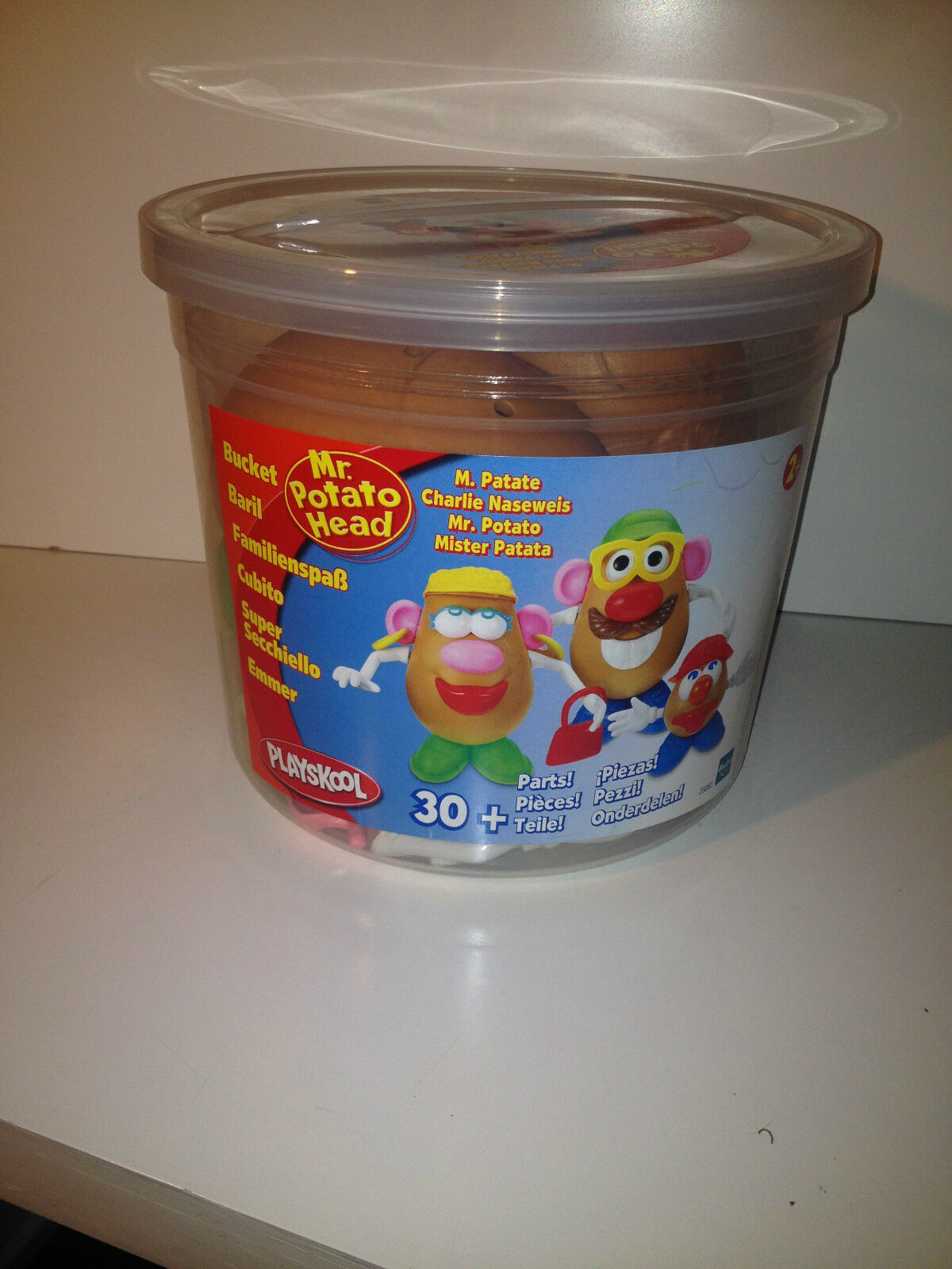 CUBO MR. POTATO HEAD FAMILY MAS DE 30 PIEZAS 1998
