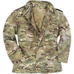 8b30b618b36 MIL-TEC MENS URBAN PARKA COMBAT M65 ARMY JACKET TACTICAL HUNTING ...