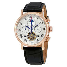 Lucien Piccard Ottoman Silver Dial Automatic Mens Watch 40012A-RG-02S-W
