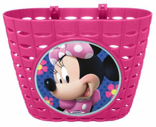 Disney Minnie Mouse Maus Kinder Fahrradtasche Lenkertasche Fahrrad Korb Rosa