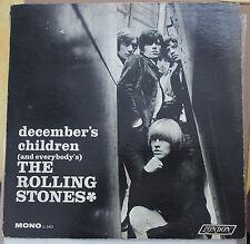 "ROLLING STONES ""December's Children (And Everybody's)"" Vinyl LP USA 1966 Mono"