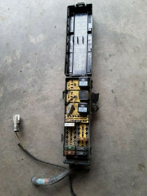 92 93 94 1994 Ford Ranger Fuse Box Under Hood X