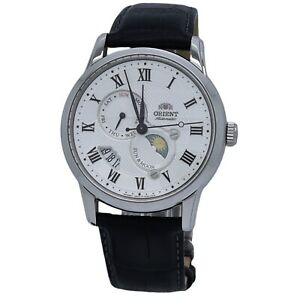 Orient Sun and Moon Version 3 FAK00002S0 White Dial Men's Watch
