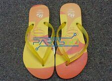 86f4ca9db2bd12 Havaianas Rio 2016 Limited Edition Flip Flops Size USA 3 4Y New! Original!