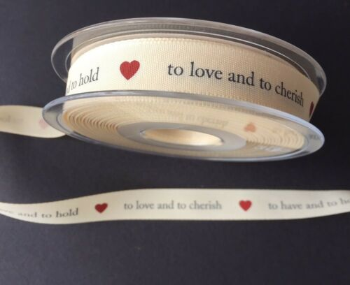 Berisfords 15mm To Have /& To Hold Ribbon 2 metres