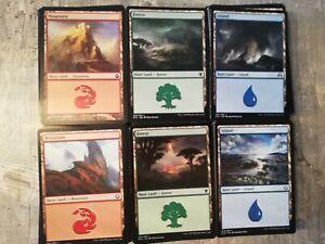 Magic The gathering Länder 300 Karten