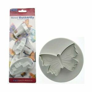 PME-veined-butterfly-plunger-cutter-set-of-3-sugarcraft-FAST-SHIPPING