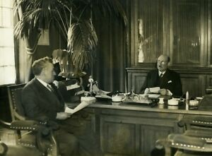 France-Nanterre-Depot-de-Mendicite-Director-039-s-Office-Old-Photo-1930