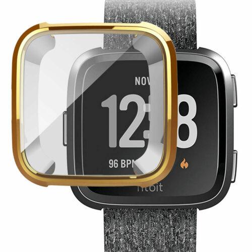 Für Fitbit Versa Band Fitness Slim Designer Hülle Überzug Schutzhülle Nett X2X