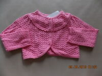 Girl's Gymboree Spring Celebrations Easter Pink Button Up Sweater 2t 3t 5t
