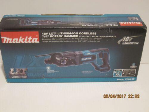 Makita XRH04Z 18-Volt LXT Lithium-Ion 7/8 Cordless Rotary Hammer-F/SHIP NISB!!