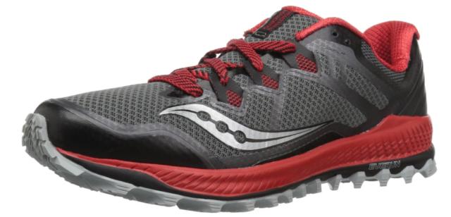 Saucony Peregrine 8 Talla 11 M (D) Eu 45 Hombre Trail Running Zapatos Negro