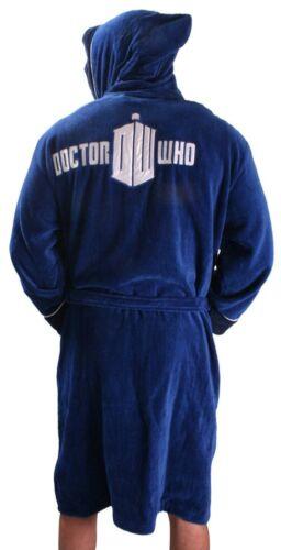 Dottore Tardis ufficiale lussuoso Mens accappatoio accappatoio Who Dr 5055437904778 vestaglia morbido rqrRS7t