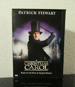 A Christmas Carol DVD Movie - w/ Patrick Stewart | eBay
