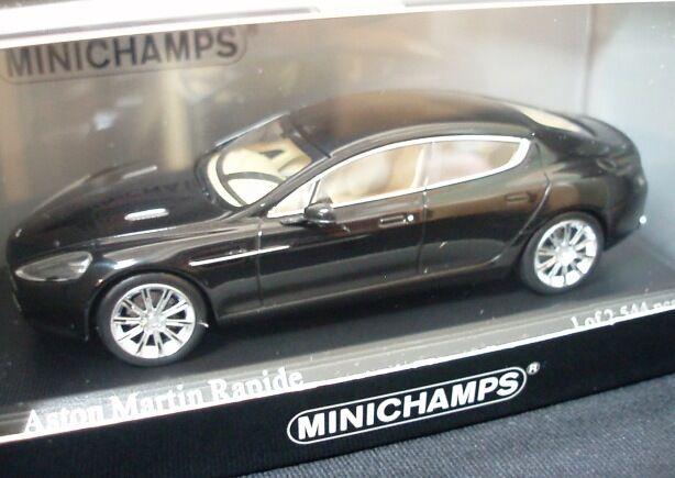 Aston Martin Rapide 2010 nero  Metallic 400137900 1 43 Minichamps