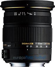 Sigma AF 17-50 mm F/2,8 EX DC HSM für Sony A-Mount A77 A77II A68 A65 usw.